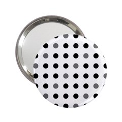 Polka dots  2.25  Handbag Mirrors