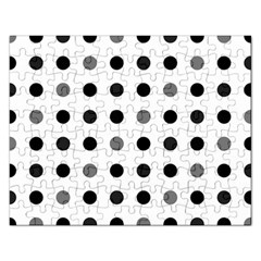 Polka dots  Rectangular Jigsaw Puzzl