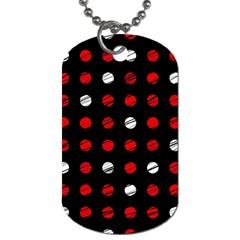 Polka dots  Dog Tag (Two Sides)