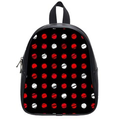 Polka dots  School Bags (Small)