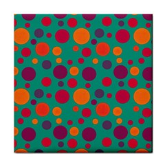 Polka dots Face Towel