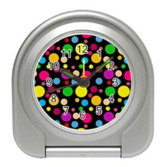 Polka dots Travel Alarm Clocks