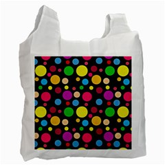 Polka dots Recycle Bag (One Side)