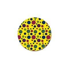 Polka dots Golf Ball Marker (10 pack)