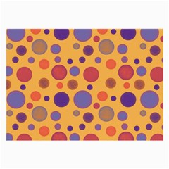 Polka dots Large Glasses Cloth