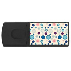 Polka dots USB Flash Drive Rectangular (1 GB)