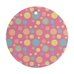 Polka dots Ornament (Round)