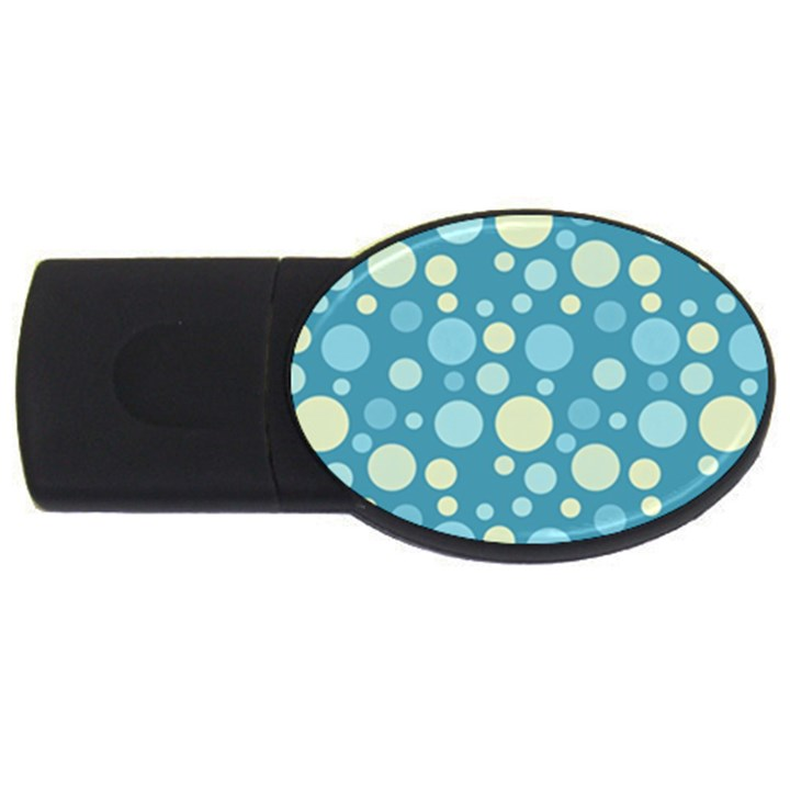 Polka dots USB Flash Drive Oval (4 GB)