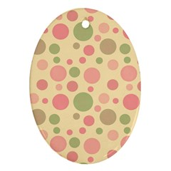 Polka dots Ornament (Oval)