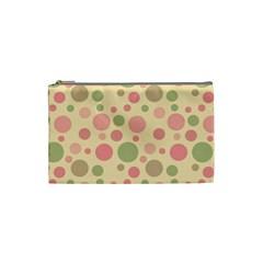 Polka dots Cosmetic Bag (Small)
