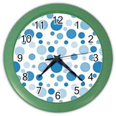 Polka dots Color Wall Clocks