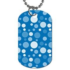Polka dots Dog Tag (One Side)