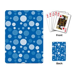 Polka dots Playing Card