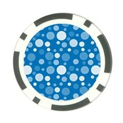Polka dots Poker Chip Card Guard (10 pack)