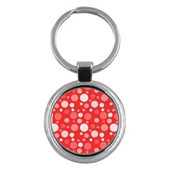 Polka dots Key Chains (Round)