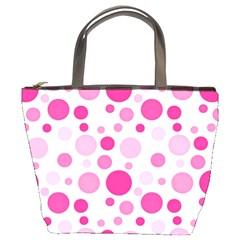 Polka dots Bucket Bags