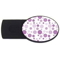 Polka dots USB Flash Drive Oval (2 GB)