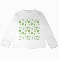Polka dots Kids Long Sleeve T-Shirts