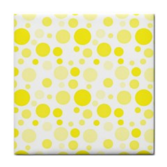 Polka dots Tile Coasters