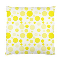 Polka dots Standard Cushion Case (Two Sides)