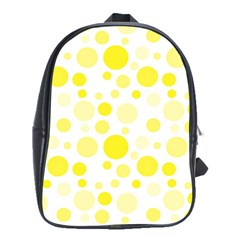 Polka dots School Bags(Large)