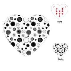 Polka dots Playing Cards (Heart)