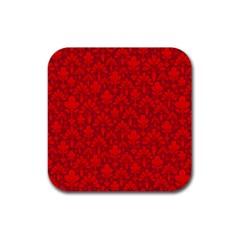 Pattern Rubber Coaster (Square)