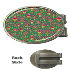 Pattern Money Clips (Oval)