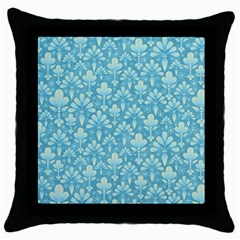 Pattern Throw Pillow Case (Black)