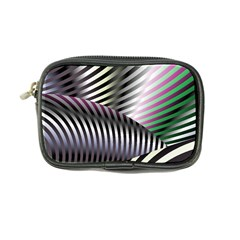 Fractal Zebra Pattern Coin Purse
