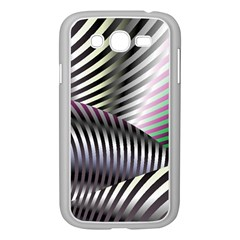 Fractal Zebra Pattern Samsung Galaxy Grand DUOS I9082 Case (White)
