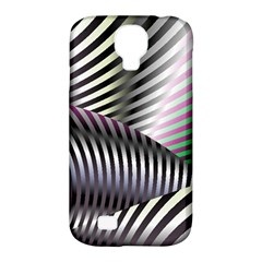 Fractal Zebra Pattern Samsung Galaxy S4 Classic Hardshell Case (PC+Silicone)