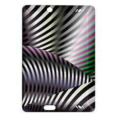 Fractal Zebra Pattern Amazon Kindle Fire HD (2013) Hardshell Case