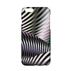Fractal Zebra Pattern Apple iPhone 6/6S Hardshell Case
