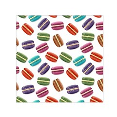 Macaroons  Small Satin Scarf (Square)