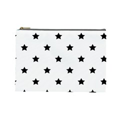 Stars pattern Cosmetic Bag (Large)