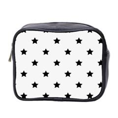Stars Pattern Mini Toiletries Bag 2 Side