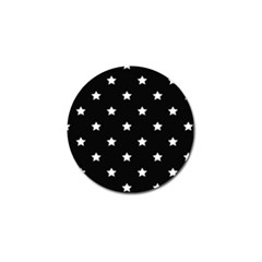 Stars pattern Golf Ball Marker (10 pack)