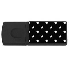 Stars pattern USB Flash Drive Rectangular (2 GB)