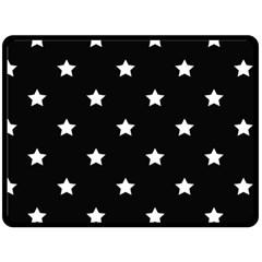 Stars pattern Fleece Blanket (Large)