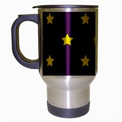 Stars pattern Travel Mug (Silver Gray)