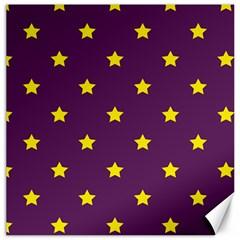 Stars pattern Canvas 20  x 20