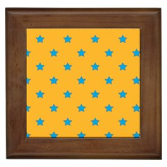 Stars pattern Framed Tiles