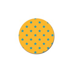 Stars pattern Golf Ball Marker