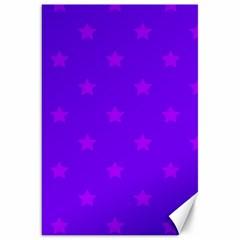 Stars pattern Canvas 20  x 30