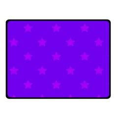 Stars pattern Fleece Blanket (Small)