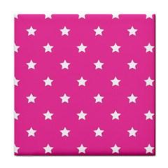 Stars pattern Tile Coasters