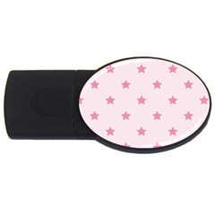Stars pattern USB Flash Drive Oval (1 GB)