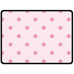 Stars pattern Fleece Blanket (Large)