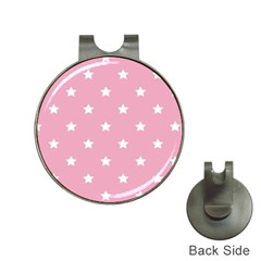 Stars pattern Hat Clips with Golf Markers